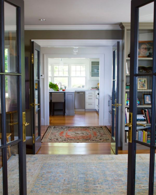 Inside and out where to use french doors for Large french doors