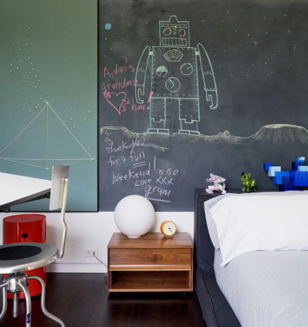 Home Design Ideas Blackboard: Fun And Functional, Great For