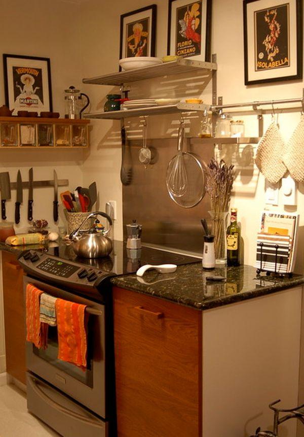 Kitchen Knife Storage Ideas Part - 29: ... Kitchen View ...