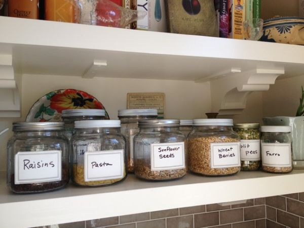 Kitchen Storage Containers Brilliant Kitchen Storage Jars A Great Way Of Organizing Ingredients And Design Inspiration