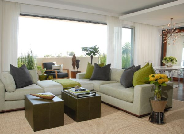 green living room accessories. Green living room accessories  Decorating with green tips and ideas