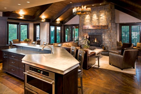 kitchens and living spaces