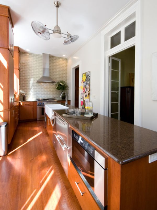 narrow kitchen design. View in gallery Interior designs for long and narrow kitchens