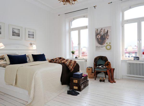 attic room ideas tumblr - 35 Scandinavian Bedroom Ideas That Looks Beautiful & Modern