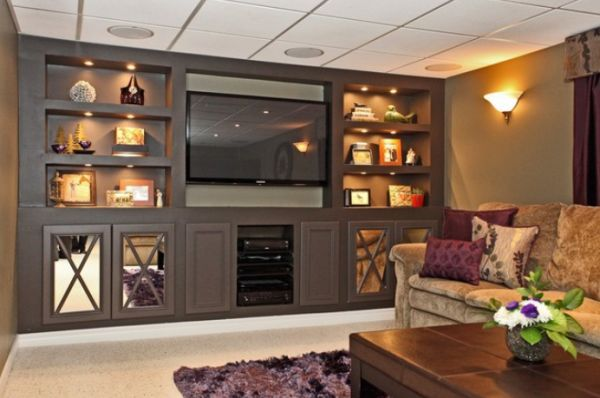 Built in furniture advantages and things to consider for Furniture for media room