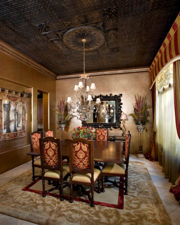 A Few Ways Of Turning A Tray Ceiling Into A Beautiful Focal Point