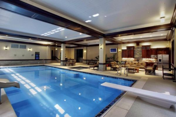 Beautiful Stunning Indoor Pools Refreshing Reminders Of