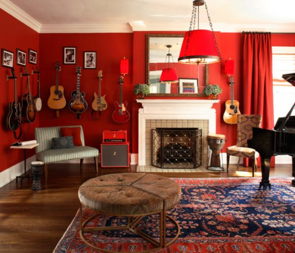 Genial How To Decorate A Home Music Room