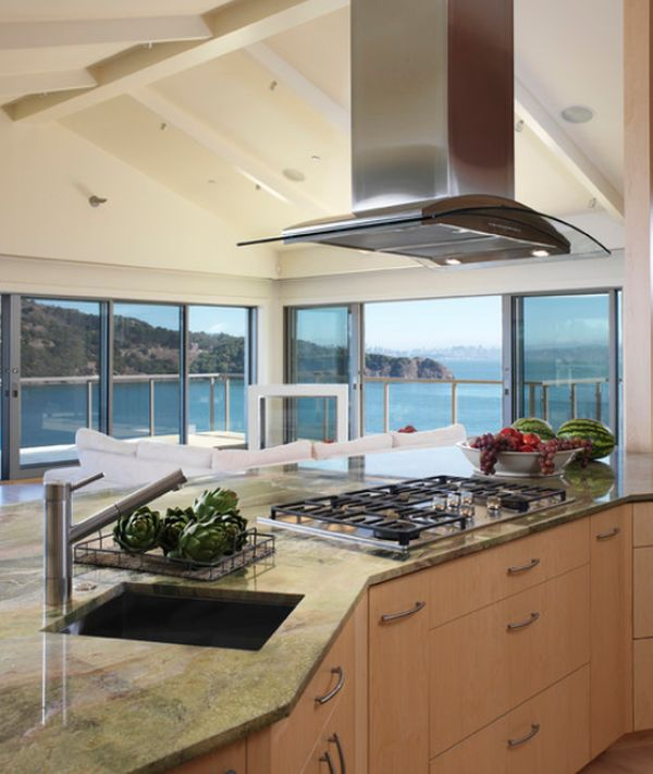 Kitchen Design Range Hood: Stainless Steel Kitchen Hood Designs And Ideas