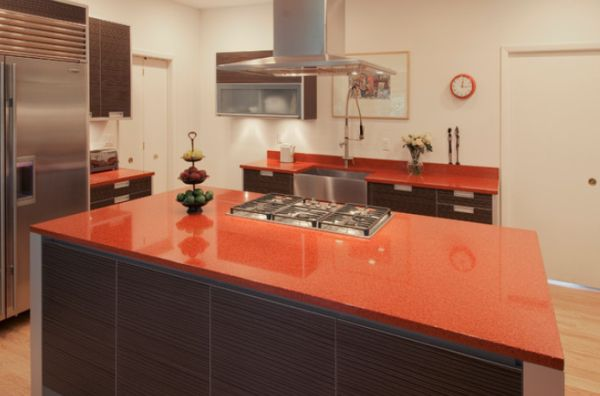 Colorful Kitchen Counters For A Cheerful And Dynamic D 233 Cor
