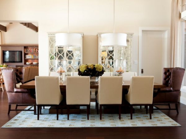 view in gallery - Lighting Dining Room Table