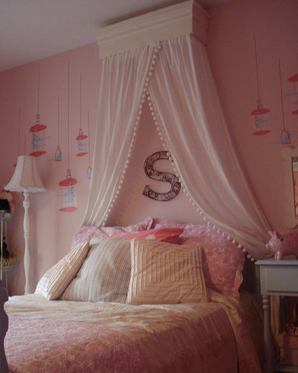 : girls canopy bed - memphite.com