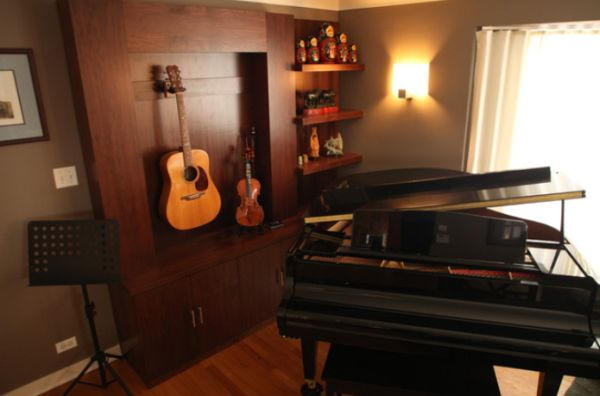 View In Gallery. Not Everyone Wants A Music Room ...