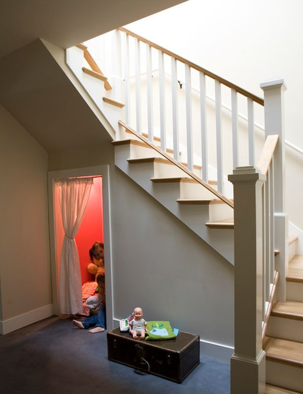 Five Ideas For Using The Space Under A Stairwell