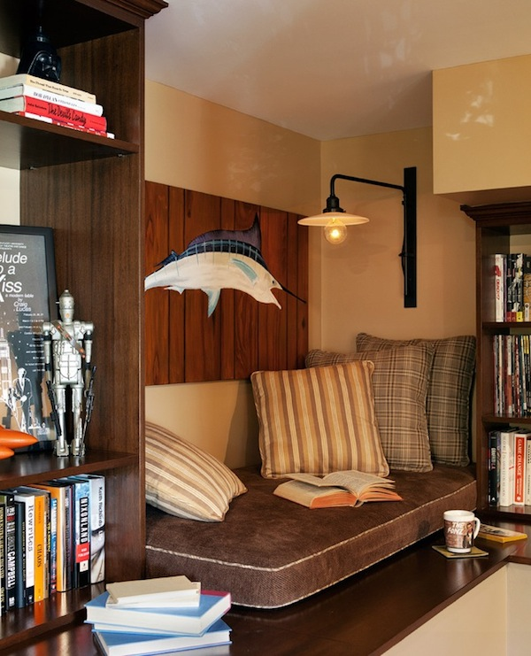 11 Cool Home Office Ideas For Men: Bringing Light Into Your Cozy Reading Nook