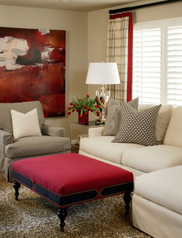 red livingroom how to work with red to create vibrant and elegant decors 3221