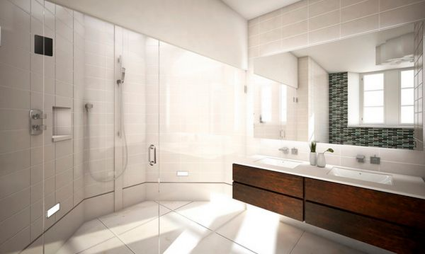 How to take advantage of floating vanities to make for Sleek bathroom design
