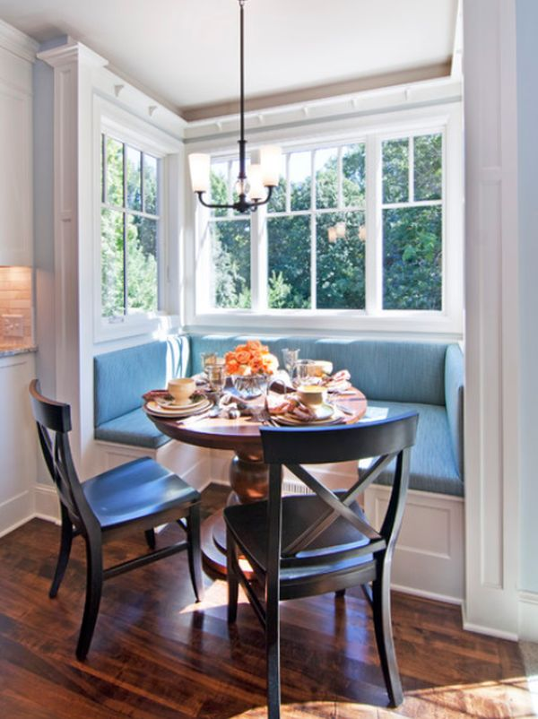View In Gallery Stylish Breakfast Nook ...