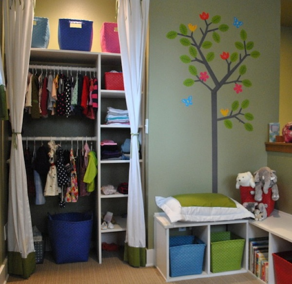 small childrens closet