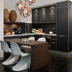 small kitchen display