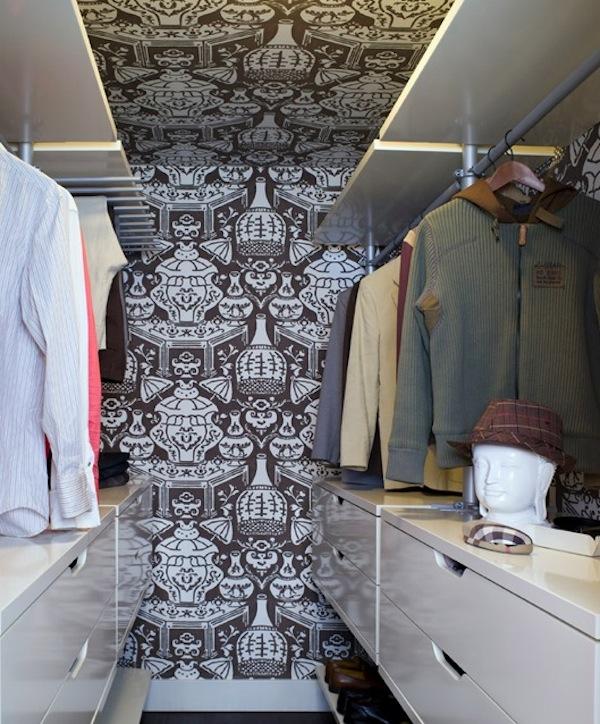 small mens closet