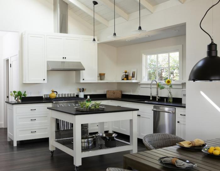 Kitchen Island On Casters 10 practical, versatile and multifunctional rolling kitchen islands