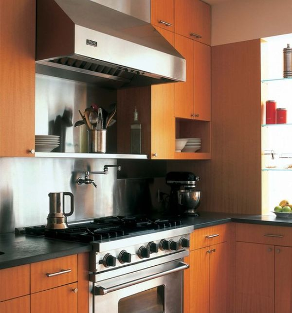 View  Stainless Steel Kitchen Hood Designs And Ideas
