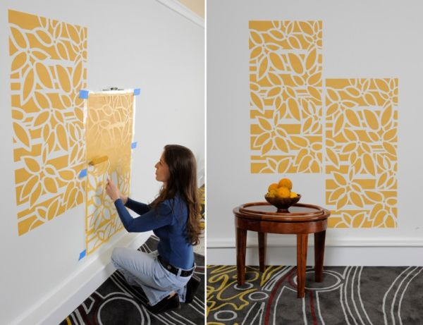 How to update boring walls for Paint templates for walls
