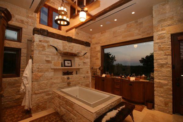 Beautiful, sumptuous stone bathrooms