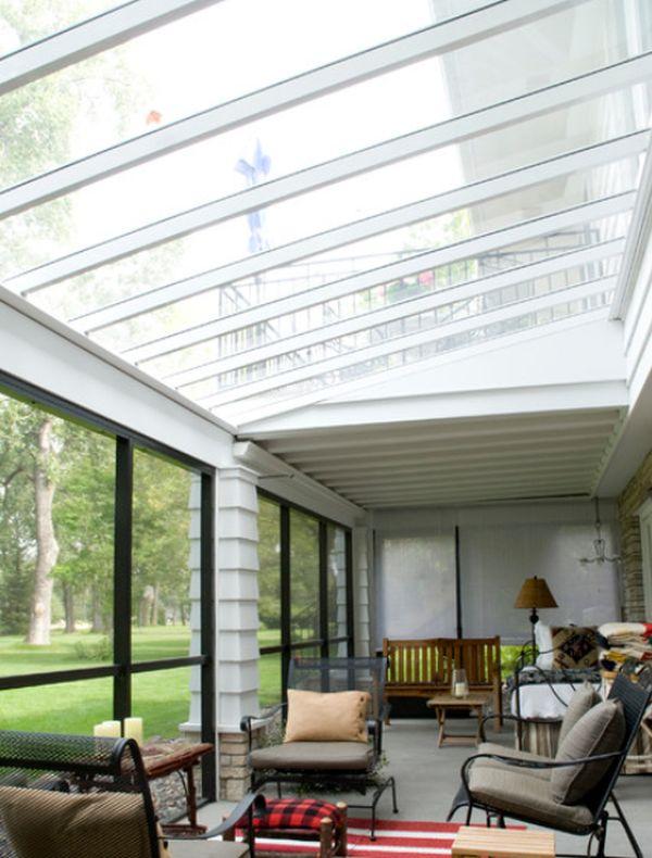 Glass ceiling. & 5 Unique Ideas For Amazing Ceiling Designs