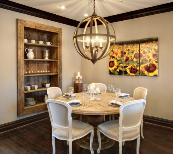 Built in furniture advantages and things to consider for Dining room shelves