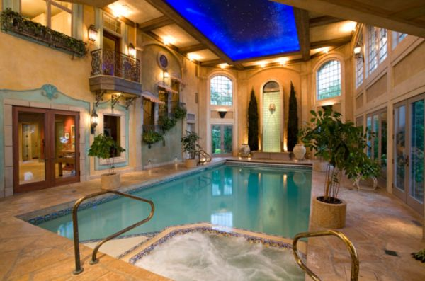 Beautiful stunning indoor pools – refreshing reminders of
