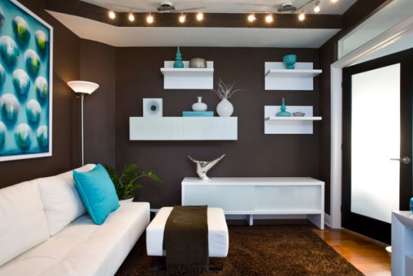 brown and turquoise bedroom. View in gallery Decorate with small turquoise accessories for a big kick your decor