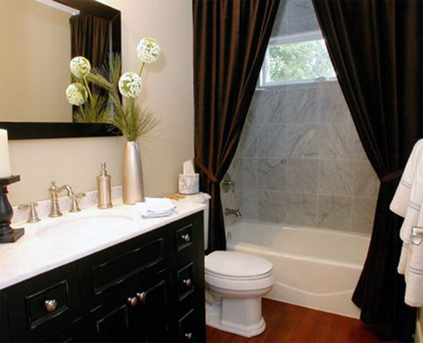 view in gallery - Shower Curtain Design Ideas