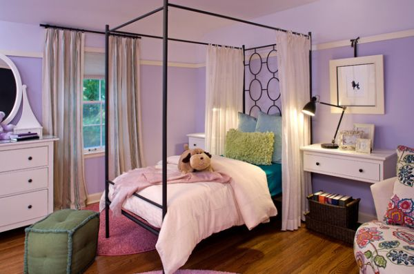 Charming ... Canopy Above The Bed View ... Nice Design