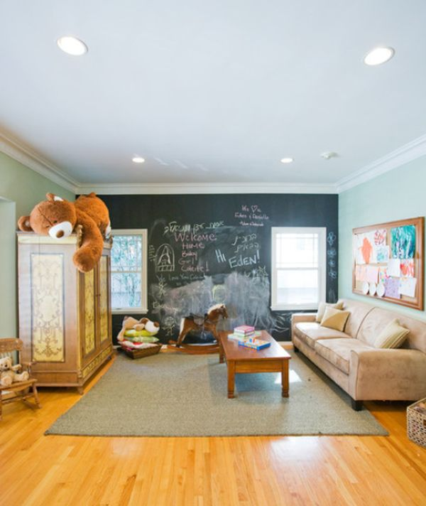 Playrooms With Brick Accent Wall: Fun And Functional, Great For