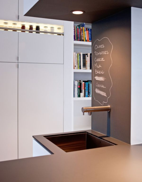 Chalkboard accent walls – fun and functional, great for all types of ...