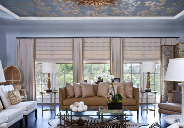 A Few Ways Of Turning A Tray Ceiling Into A Beautiful Focal