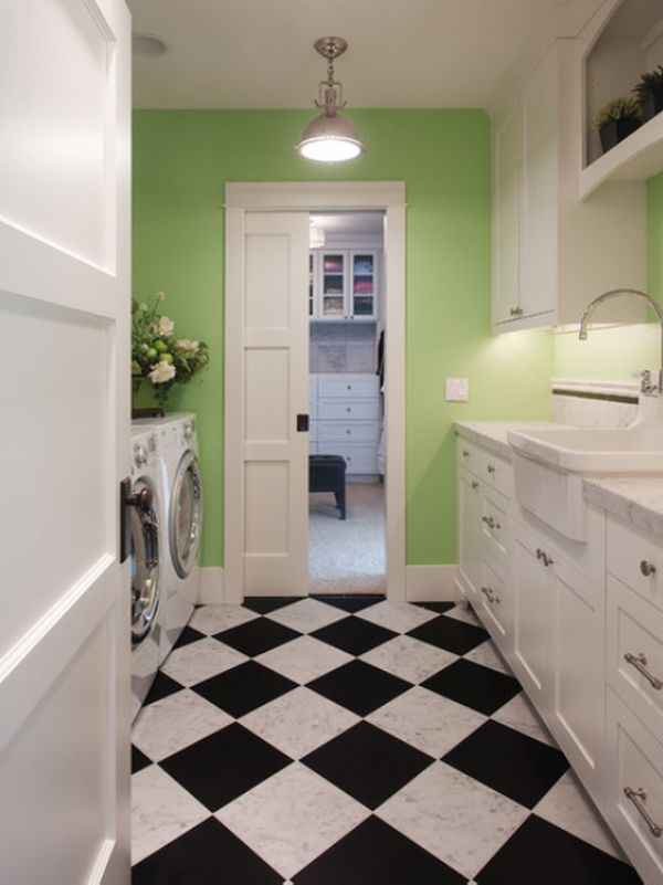 In The Bathroom View Gallery Another E Where Checkerboard Flooring
