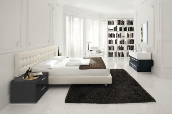 Sparkling White Walls That Can Make A Room Shine And Stand Out