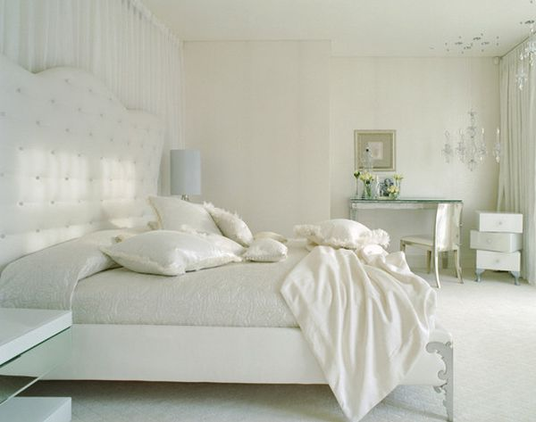 White bedroom design ideas simple serene and stylish - Romantic living room ideas for feminine young ladies casa ...