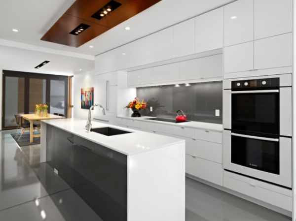 White Kitchen Counter colorful kitchen counters for a cheerful and dynamic décor