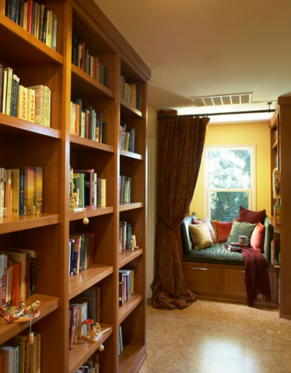 10 cozy and relaxing reading spaces.