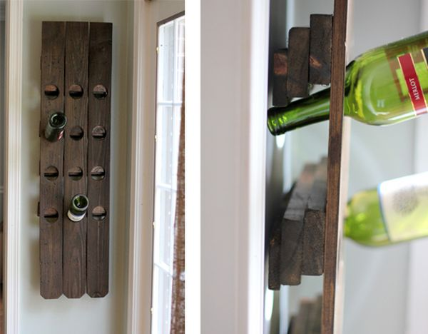 Diy Wine Racks A Little Bit Of Warmth And Natural Beauty