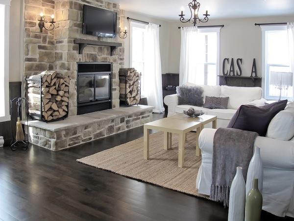 Attractive Wood Storage Traditional Design Ideas