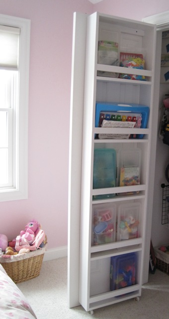 Most People Have Doors In Their Home, Such As Linen Or Coat Closets, That  They May Not Open Often. These Doors Are The Perfect Place To Add Shelves.