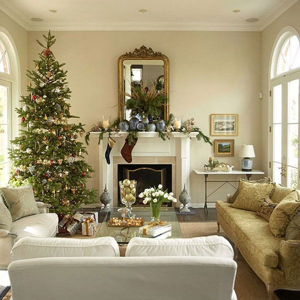 42 christmas tree decorating ideas you should take in for Christmas home decorations pinterest