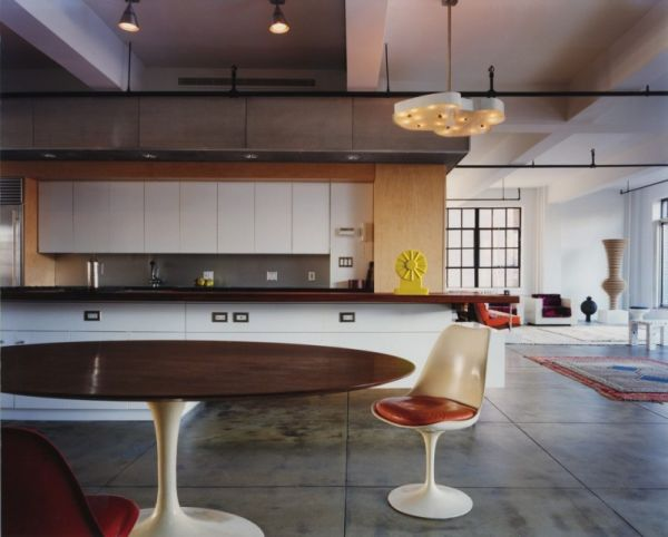 Top 10 most amazing loft designs we love for New york style kitchen
