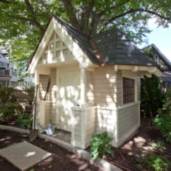 how to build a garden tool shed from scratch