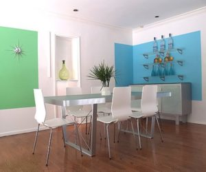 Add a touch of color to your home by painting the walls